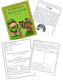 Building an Elf Workshop STEM ACTIVITY