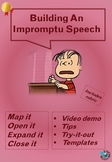 Building an impromptu speech - guidance and practice