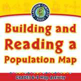 Building and Reading a Population Map - Activity - NOTEBOOK Gr. 6-8