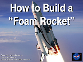 Building and Testing Foam Rockets