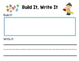 Building and Writing Words