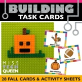 Lego STEM Challenge Task Cards - Fall Themed