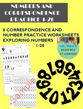 Building numbers and correspondence pack *No Prep* || English