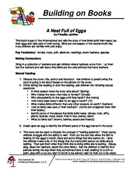 Building on Books: A Nest Full of Eggs
