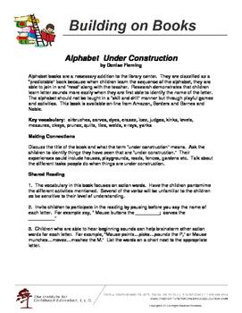 Building on Books: Alphabet Under Construction