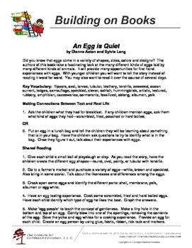 Building on Books: An Egg is Quiet