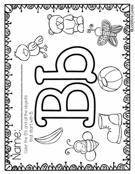 Building our Letter Recognition: All About the Letter B
