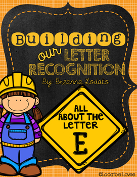 Building our Letter Recognition: All About the Letter E