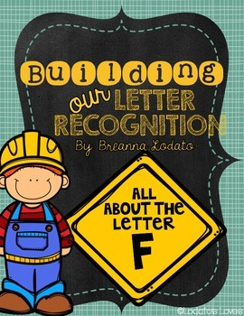Building our Letter Recognition: All About the Letter F