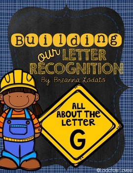 Building our Letter Recognition: All About the Letter G