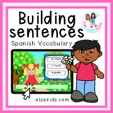 Building sentences in Spanish | Construyendo Oraciones de