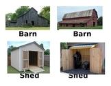 Building study Vocbulary Cards Creative curriclum