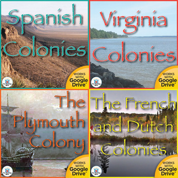 Building the First Colonies US History Unit Bundle