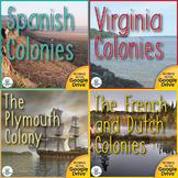 Building the First Colonies US History Unit Bundle Distanc