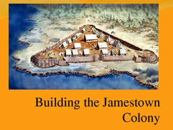 Building the Jamestown Colony