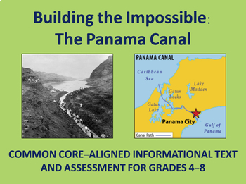 Building the Panama Canal : Historical Passage and Assessment