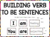 Building verb to be sentences