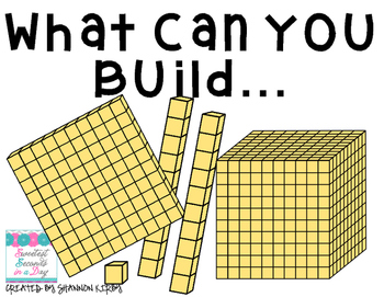 Building with Base 10 Blocks