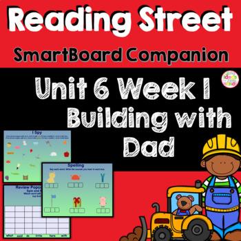 Building with Dad SmartBoard Companion Kindergarten
