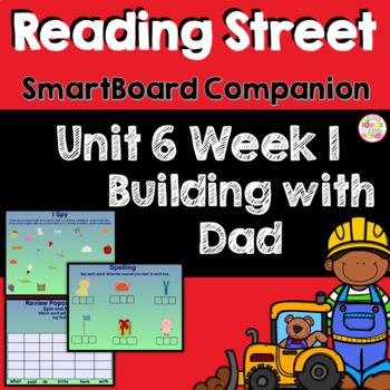 Building with Dad SmartBoard Companion Kindergarten