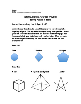 Building with Yarn