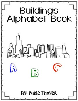 Buildings Alphabet book