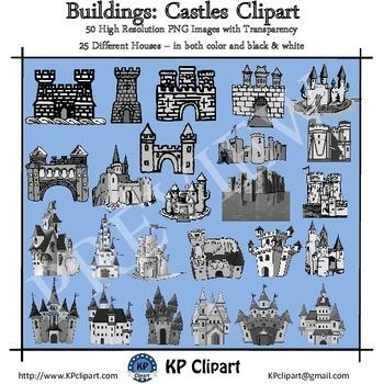 Buildings Castles Clipart