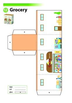 Buildings - Cities - Paper Craft Part 2