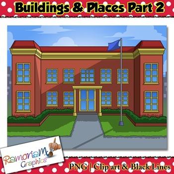 Buildings Clip art