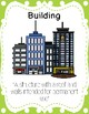 Buildings Study Definition Posters
