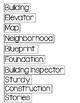 Buildings Study Word Wall