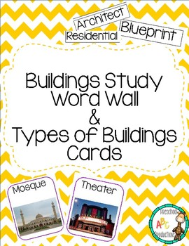 graphic relating to Printable Buildings named Structures Analyze Phrase Wall