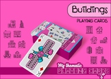 Buildings Themed Playing Cards Deck