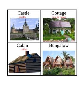 Buildings Wordwall Vocabulary