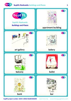 Buildings and Places Flashcards in English