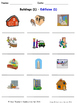 Buildings and Structures in Spanish Worksheets