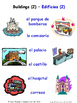 Buildings and Structures in Spanish Matching Activities