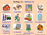 Buildings and Structures in Spanish Posters / Slides