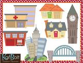 Buildings/Buildings 2 and Places Bundle Clip-Art