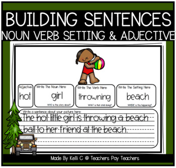 Building Simple Sentences- Nouns, Verbs, Setting and Adjectives