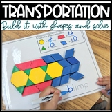 Build It With Shapes and Solve! Shape Recognition and Pattern Block Puzzles