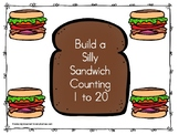 Build a Silly Sandwich Counting 1 to 20