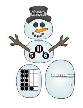 Built a snowman-Math