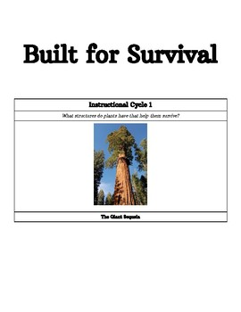 Built for Survival - Instructional Cycle 1