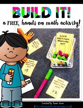 Build it Addition Freebie!