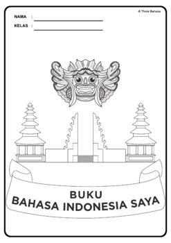 Buku Bahasa Indonesia Saya Book Covers & Colouring Pages (Sampul Buku)