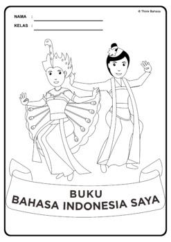 Buku Bahasa Indonesia Saya Book Covers (Sampul Buku Series 2)