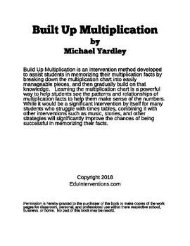 Buld Up Multiplication