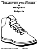 """Bulgaria """"Create your own Sneaker"""" with WEBQUEST"""