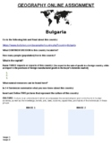 Bulgaria Online Assignment (Word Document)